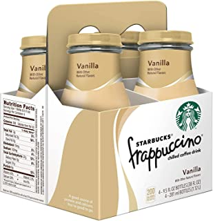 Starbucks Frappuccino Vanilla, 9.5 Fl Oz (pack of 4)