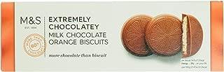 Marks & Spencer / M&S Extremely Chocolatey Milk Chocolate Orange Round Biscuits