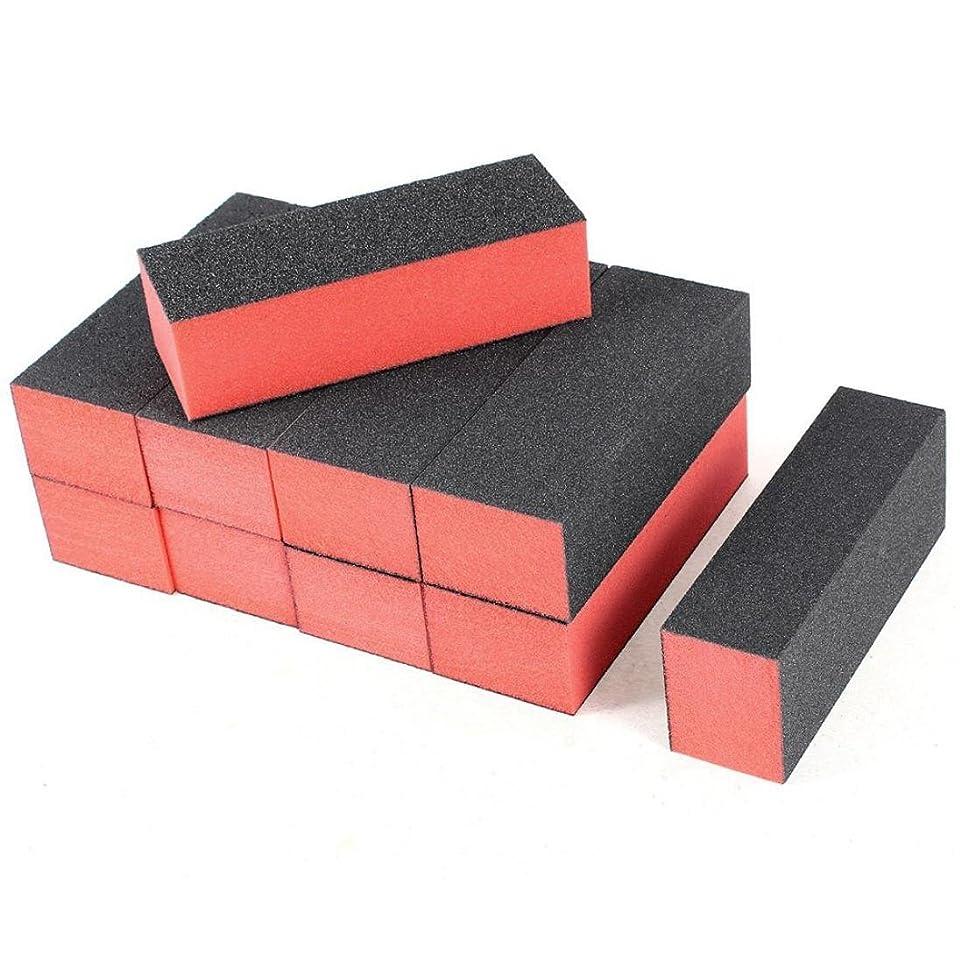 実験室遠足テンションSakuraBest 10PC Nail Art Care Buffer Buffing Sanding Block Files