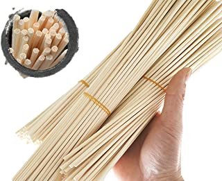 Newbested 150 Pcs Reed Diffuser Sticks,Wood Rattan Reed Sticks,diffuser sticks for essential oils