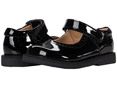 Elephantito Patent Mary Jane (Toddler/Little Kid) (Patent Black) Girls Shoes
