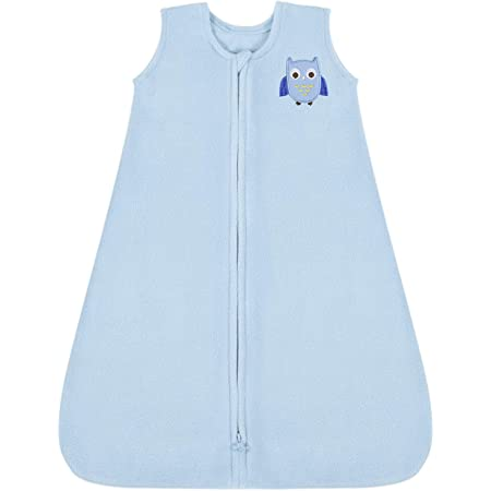 TILLYOU Large L Breathable Cotton Baby Wearable Blanket with 2-Way Zipper Fits Infants Newborns Age 12-18 Months Peach Unicorn Super Soft Lightweight 2-Pack Sleeveless Sleep Bag Sack for Girls