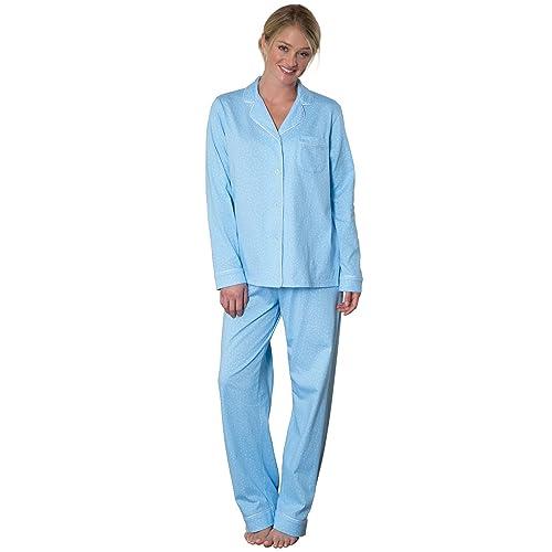 PajamaGram Pajamas for Women Soft - Cotton Jersey Womens Pajamas 7e54ac61b