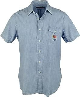 Mens Chambray Standard Fit Casual Shirt