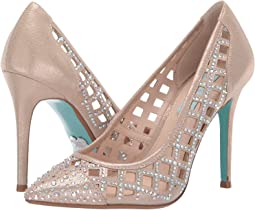 b253e3a92c8 New. Pale Nude. 9. Blue by Betsey Johnson. Mella Pump