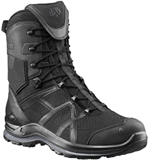 Haix Black Eagle Athletic 2.0 T High/Black Sidezipper Botte de Sport Respirante avec Fermeture éclair latérale
