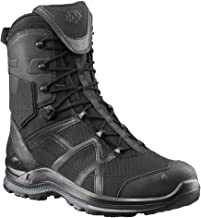 Haix Black Eagle Athletic 2.0 T High, Side-Zip Boots, Black, 14.5, 330004M-14.5