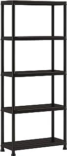 KETER   Etagère Plus 75/5, Noir, Shelves, 75x32x176 cm
