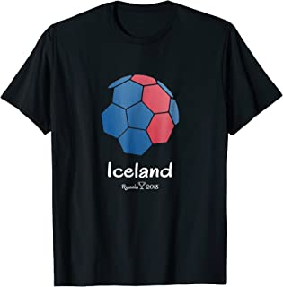 Iceland Soccer Jersey Russia 2018 Football Team Fan Shirt
