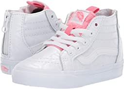 bfad5af424 (White Giraffe) True White Strawberry Pink. 106. Vans Kids. Sk8-Hi Zip  (Toddler).  40.99MSRP   45.00