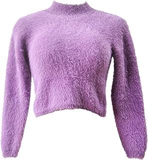 GGTFA Las Señoras De Punto Suave Estiramiento Peplum Puente Superior Casual Suéter De Cuello rojoondo