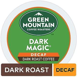 Green Mountain Coffee Dark Magic Decaf Keurig Single-Serve K-Cup pods, Dark Roast Coffee, 72 Count