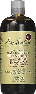 SheaMoisture Shea Moisture Jamaican Black Castor Oil Strengthen & Restore Shampoo 16.3 Oz Pack of 2