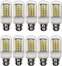 12V B22 10W Niet-dimbare LED-lamp 10w AC/DC 12-60v for RV Camper Marine, Solar Power Light And Off Grid 10pcs / lot WELSUN...