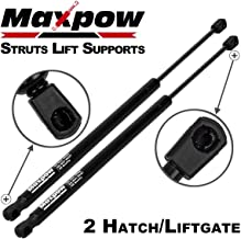 Maxpow 2PCS Rear Door Hatch Liftgate Gate Lift Supports Shock Strut Arms Compatible With 2001 2002 2003 2004 2005 2006 2007 2008 PT CRUISER 4564 04589631AA
