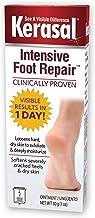 Kerasal Intensive Foot Repair, Skin Healing Ointment for Cracked Heels and Dry Feet, 1 Oz
