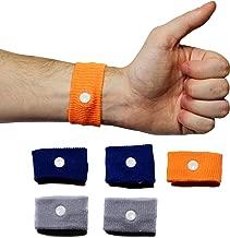 Chesterman's 3 Pairs Motion, Morning and Vertigo Sickness Relief Wristband, Anti Nausea Acupressure Bracelet, Travel Essential Cruise Sea Car Plane