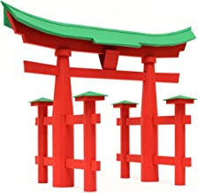 PaperLandmarks Torii Gate Paper Model Kit
