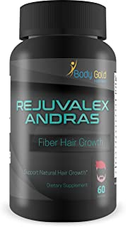 Rejuvalex - Andras Fiber - Hair Growth - Support Natural Hair Growth - with Vitamin B3 (Niacin) and a Powerful Proprietary Hair Blend. Help Prevent Hair Loss and Support Natural Hair Regrowth