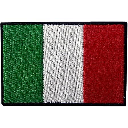 ZEGIN Italia Bandiera Ricamata Applique Ferro A Cucire Il Cerotto Distintivo