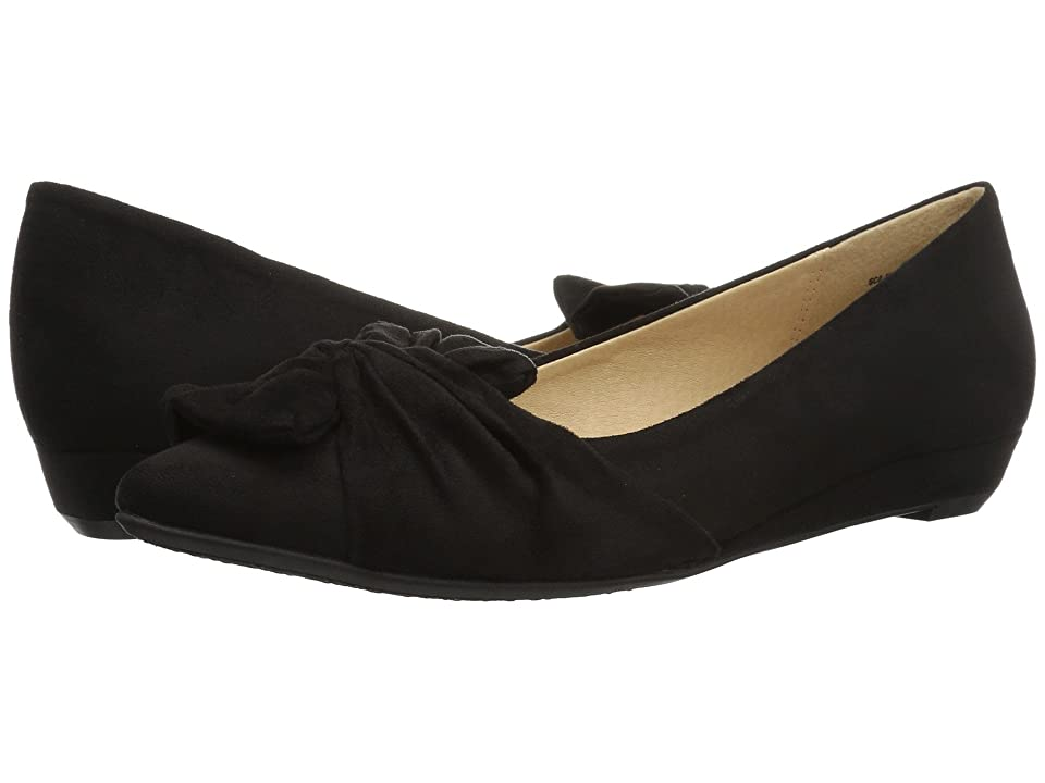 CL By Laundry Super Cute (Black Suede) Women