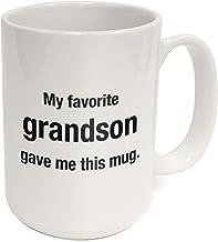 كوب قهوة من كوترستون سعة 425 مل هدية القدح ، سيراميك أبيض