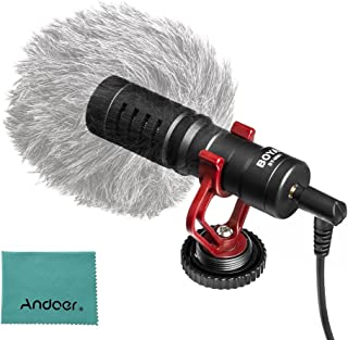Mini Portable Cardioid Microphone Professional Interview Microphones with Furry for iPhone 6/6Plus Samsung Huawei Smartpho...
