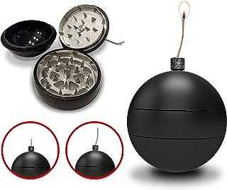 Toke Bomb Hemp Wick Dispenser 3 Piece Grinder Magnetic Herb Tobacco