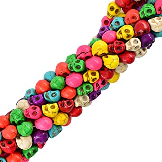 Best colorful skull beads Reviews