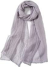 Jeelow Lightweight Scarves Fashion Light Shawl Beach Wrap Head Scarf For Women