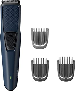 Philips BT1232/15 Skin-friendly Beard Trimmer - DuraPower Technology, Cordless Rechargeable with USB Charging, Charging in...