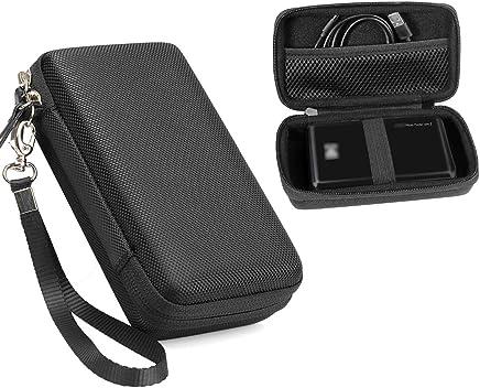 设计保护套适用于 Kodak 迷你移动 Wi-Fi & NFC 打印机也适用于 pickit M2便携式相片打印机新 LG 口袋相片打印机3pd251网眼袋适用于相纸和电缆 黑色