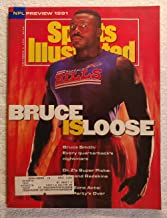 Bruce Smith - Buffalo Bills - Bruce Is Loose - Sports Illustrated - September 2, 1991 - NFL Preview 1991 - SI - Poor Condi...
