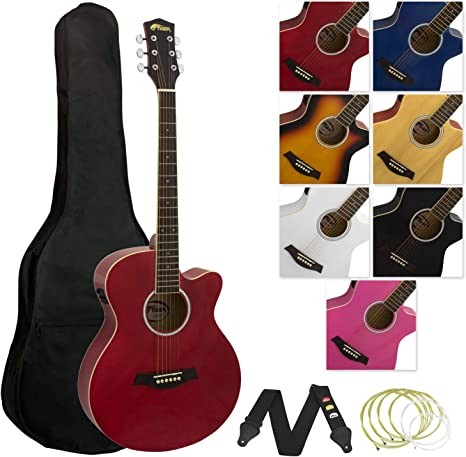 Other 6 String Acoustic Guitar Other Red Right 41