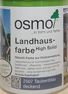 OSMO Landhausfarbe High Solid 750ml Taubenblau 2507