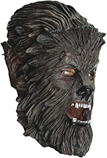 Wolfman Mask Adult Scary Halloween Costume Fancy Dress