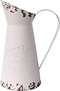 vintage french enamel jug