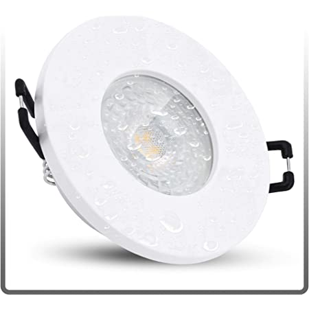 linovum ISAWO Deckenstrahler Einbau LED IP65 mit LED Modul 5W warmweiß