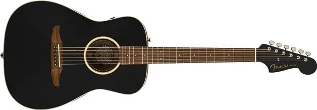 Fender malibu Special - California Series Acoustic Guitar - Matte Black with Gig Bag