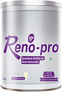 British Biologicals Reno-Pro - Specialized Nutrition for Renal Dysfunction | Safe for Diabetics | Gluten & Lactose free | ...