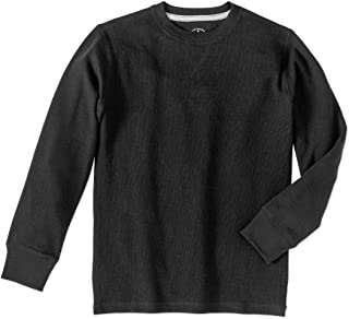 a413ec6d Faded Glory Boy's Long Sleeve Thermal Crew Neck Shirt