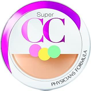 Physicians Formula Super CC Color-Correction and Care CC Compact Cream SPF 30, Light/Medium, 0.28 Ounce
