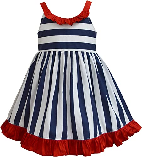 Girls Cotton Skater Dress