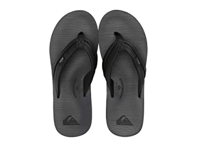 Quiksilver Carver Squish (Black/Grey/Black) Men