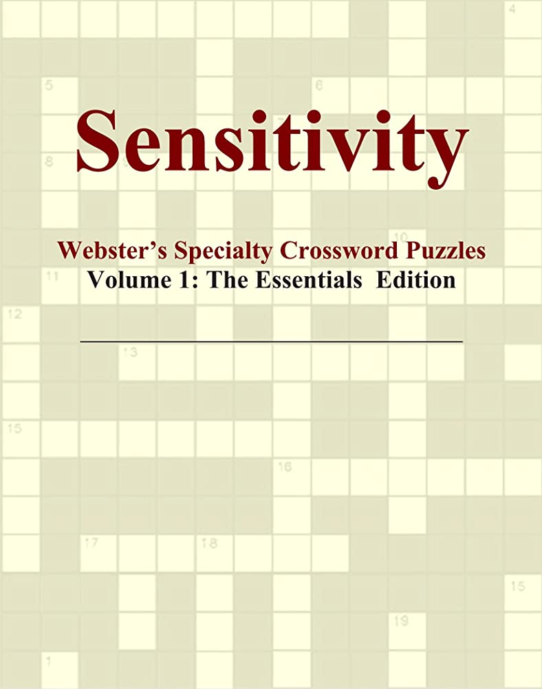 大腿期待古くなったSensitivity - Webster's Specialty Crossword Puzzles, Volume 1: The Essentials Edition
