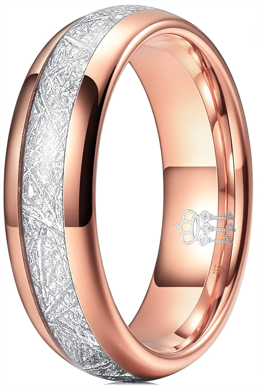 THREE KEYS JEWELRY 4mm 6mm 8mm Imitated Store 1 year warranty Tungsten Wedding Ring Me