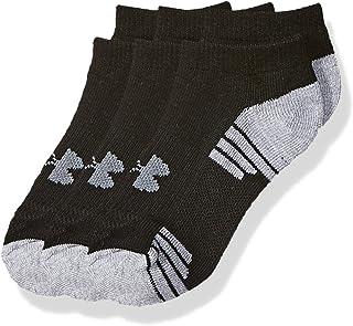 Under Armour Youth Heatgear Tech No Show Socks, 3-Pairs
