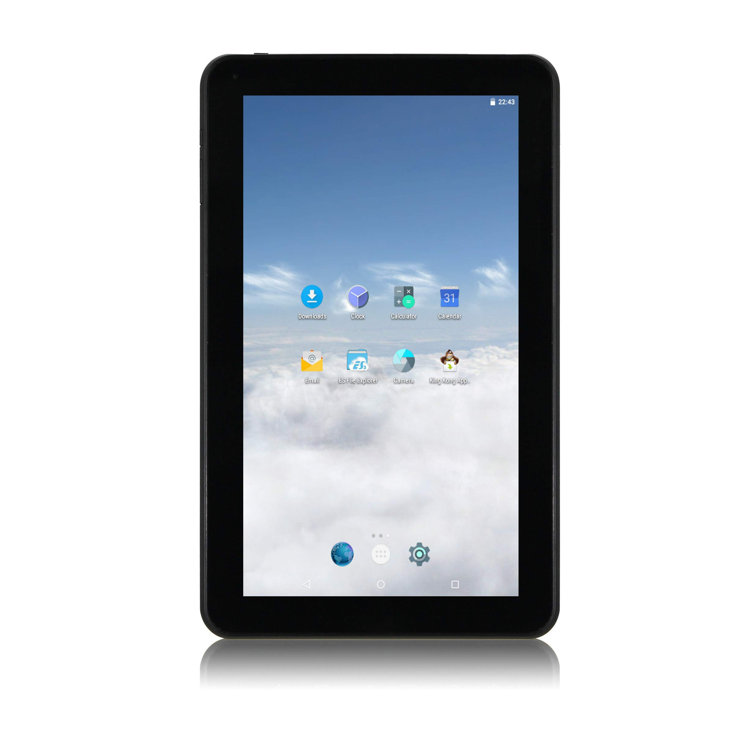 iView 1060TPCKBK Android Tablet Storage