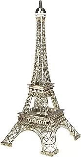 Homeford Firefly Imports Tall Metal Eiffel Tower Paris France, 20-Inch, Silver