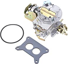 Ambienceo 2 Barrel Carburetor Carb 2100 for Ford Mustang F150 F250 F350 1964~1978 Comet Engine 289Cu 302 Cu 351 Cu, with Mounting Gasket & Seal